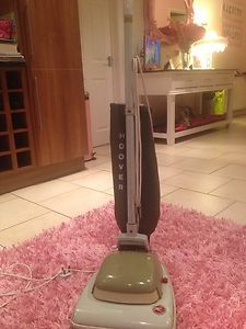 vintage upright hoover vacuum cleaner