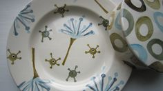 Emma Bridgewater 8.5 inch Plate and Char Dish (Samples)