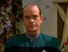 Robert Picardo as The Doctor in Star Trek Voyager ❤