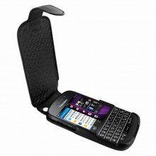 Forro BlackBerry Q10 Piel Frama iMagnum - Negra  Bs.F. 605,44