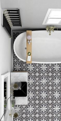gorgeous concrete tiles