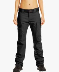 Under Armour tactical pants, one of the best fits for women.    Love these pants.