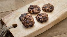 vegan oat cookies with dark chocolate and hazelnut true taste hunters: Wegańskie ciastka owsiane z gorzką czekoladą i orz...