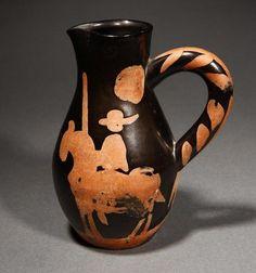 picasso ceramics catalog | lot 1012 1012 a pablo picasso ceramic picador pitcher jug view catalog