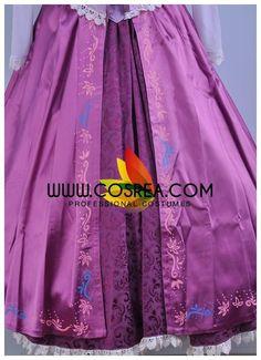 Cosrea Disney No Option Rapunzel Classic Satin Cosplay Costume