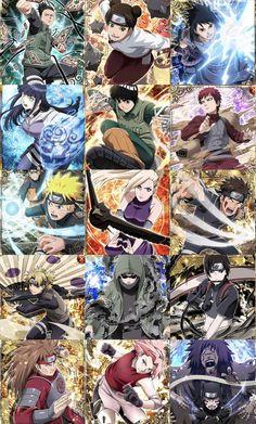 Naruto Badass Everyone ⚔️ Naruto Shippuden Sasuke, Naruto Kakashi, Anime Naruto, Naruto Teams, Wallpaper Naruto Shippuden, Hinata Hyuga, Naruto Wallpaper, Gaara, Sakura Haruno