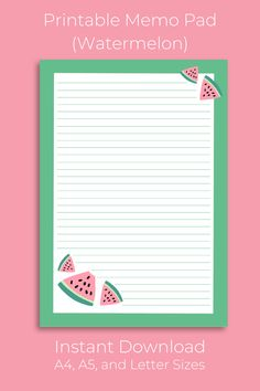 Memo Notepad, Pen Pal Letters, Cute Notes, Printable Letters, Ipad Art, Notebook Covers, Disney Crafts, Snail Mail, Note Paper
