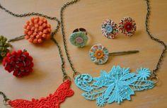 Scrapbooked Jewelry | AllFreeJewelryMaking.com