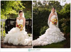 Watson House Bridal Portrait