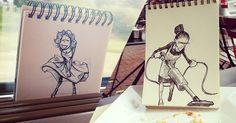 A travers les affiches ou les comics, le dessin est souvent utilisé pour faire rire. Troqman, un illustrateur français, l'a bien compris et donne une touche humoristique à de nombreux instants de la vie quotidienne. DGS vous dévoile une sélection de ses plus belles