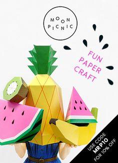 Play Fruit Templates | Mr Printables