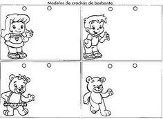 ESCOLA DOMINICAL INFANTIL: Crachas prontinhos para imprimir