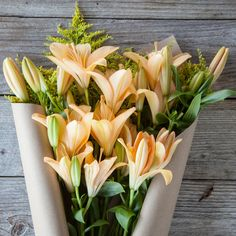 Rush to send these yellow asiatic lilies before the wells run dry! These aromatic Mother's Day blooms ship next day FREE from our sustainable farms on the Cali coast to her door.