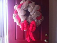DecorMesh Wreath by CreationsByPaige on Etsy. , via Etsy.