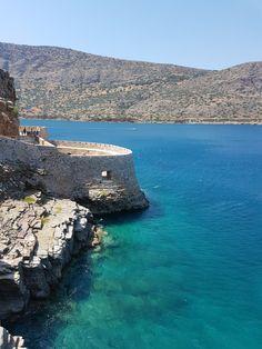 Island fort at Spinalonga , Crete