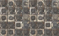 No. 7 Brooklyn Tins Wallpaper design by Merci for NLXL Wallpaper