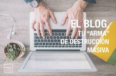 ¿Te has parado a pensar alguna vez, en el papel tan decisivo que tiene tu blog en tu negocio?
