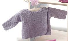 Heft Baby 64 Frühjahr / Sommer | 29: Baby Pullover | Helllila