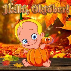 Hónapok Share Pictures, Animated Gifs, Sendai, Smiley, Princess Peach, Greeting Cards, Seasons, Humor, Halloween