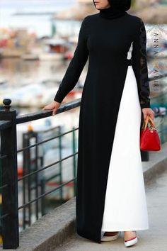 Simona Dress Use the design in the image of dress on my phone. (to include collar/ shirt-like feel). hijab, Simona Dress Source by beautyyutie dresses hijab Abaya Fashion, Modest Fashion, Fashion Dresses, Muslim Women Fashion, Islamic Fashion, Muslim Dress, Hijab Dress, Modest Wear, Modest Dresses