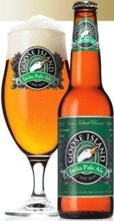 Cerveja Goose Island India Pale Ale, estilo India Pale Ale (IPA), produzida por Goose Island Brewery, Estados Unidos. 5.9% ABV de álcool.