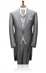 Grey Mohair Morning Suit by Torre
