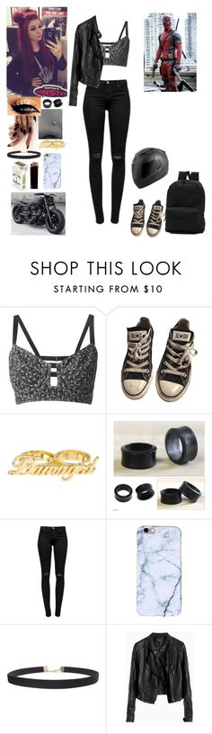 """""Sorry i'm late"" -Skyler"" by forever-can-be-a-second ❤ liked on Polyvore featuring Jean-Paul Gaultier, Converse, NOVICA, J Brand, Humble Chic and Vans"