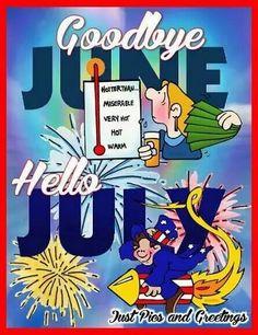 Hello July...