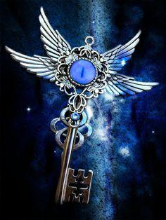 Paradise Lost Fantasy Key by ArtbyStarlaMoore on Etsy, $50.00
