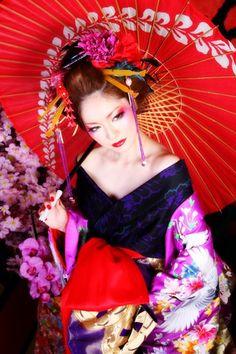 京都 心-花雫- 花魁体験写真