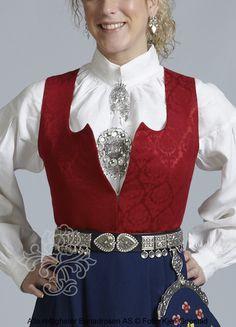 Grafferbunad til dame - BunadRosen AS Victorian, Brooches, Meet, Dresses, Fashion, Gowns, Moda, Brooch, La Mode