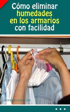 Cómo eliminar humedades en los armarios con facilidad
