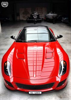 Ferrari 599 GTO:  Just appear into my life right now please lol