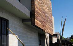 blockwork and timber