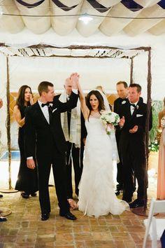 Just Married at The Crosby in Rancho Santa Fe #TheCrosby #CrosbyWedding #RanchoSantaFe #JustMarried