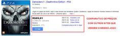 [SARAIVA] Jogo Darksiders II - Deathinitive Edition - PS4 - R$ 80,73
