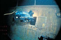 Titanic Wreck 1985