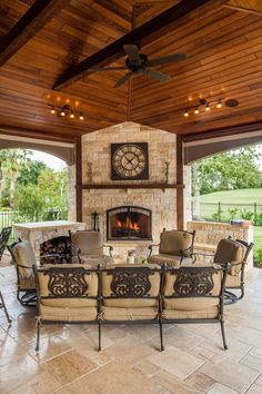 Do you need inspiration to make some DIY Outdoor Patio Design in your Home? Design aesthetic is a significant benefit to a pergola above a patio. There are several designs to select from and you may customize your patio based… Continue Reading → Rustic Outdoor Fireplaces, Outdoor Fireplace Designs, Outdoor Patio Designs, Backyard Fireplace, Outdoor Kitchen Design, Patio Ideas, Fireplace Ideas, Rustic Outdoor Kitchens, Outdoor Kitchen Patio
