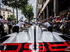 FEATURED PHOTOGRAPHER OF THE WEEK Its Le Mans race week and @adrenalmedia is doing something a little different this year shooting the event with a Fujifilm GFX 50S! Todays image was taken using the GF23mm lens and shows the Porsche LMP1 team pushing their cars into the Place de la Republique ready for scrutineering. Start your engines! #fujifilm #gfx50s #gf23mm #wideangle #porsche #lemans #racing #raceweek #scrutineering #motorsport #france #lemans24 via Fujifilm on Instagram…