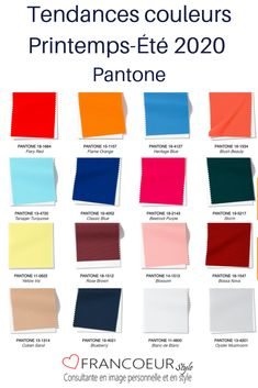 Spring-Summer 2020 Trendy colors - Here are the trendy colors of spring and summer 2020 according to Pantone. La Fashion Week, 2020 Fashion Trends, Spring Fashion Trends, Fashion 2020, Look Fashion, Spring Summer Fashion, Summer Trends, Palettes Color, Nathalie Portman