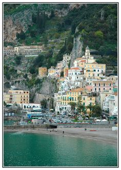 Amalfi, Italy - Looking forward to seeing this in two weeks! Places Around The World, Oh The Places You'll Go, Places To Travel, Places To Visit, Around The Worlds, Italy Vacation, Vacation Spots, Italy Travel, Amalfi Coast