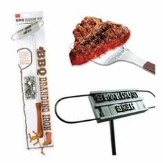 Amazon.com : Dci Bbq Branding Iron For Personalized Grilling : Barbecue Tools : Patio, Lawn & Garden