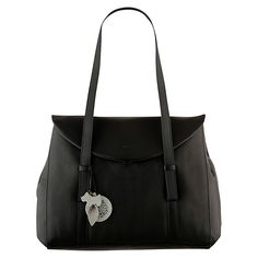 (C-BLACK) Buy Radley Sherwood Leather Large Flap Over Shoulder Bag, Black Online at johnlewis.com I just hope the tags are detachable