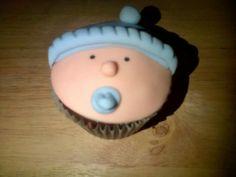 Baby Boy Cupcake - Made By Jade Sheldon