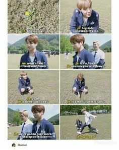 Always trust J-Hope to protect the small, beautiful things in life
