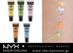 Διορθώστε τις δυσχρωμίες του προσώπου και προετοιμάστε την τέλεια βάση για το μακιγιάζ σας με τα NYX Color Correcting Liquid Primers! Το κίτρινο χρώμα φωτίζει τις ανοιχτόχρωμες επιδερμίδες. Το πράσινο χρώμα διορθώνει τις κοκκινίλες του προσώπου. Το μωβ χρώμα δίνει λάμψη στο θαμπό δέρμα. Το πορτοκαλί/καφέ χρώμα επαναφέρει τη φυσική λάμψη στις μεσαίες και σκουρόχρωμες επιδερμίδες. Το μπλε χρώμα δίνει λάμψη στις χλωμές ανοιχτόχρωμες επιδερμίδες.