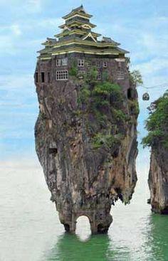 Imagenes Raras  30c9e48063a7409a7e1059c5d555e0f8--rock-houses-weird-houses