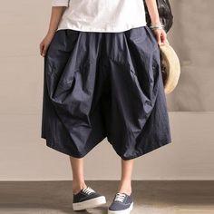 Ethnic Style Irregular Lantern Pants