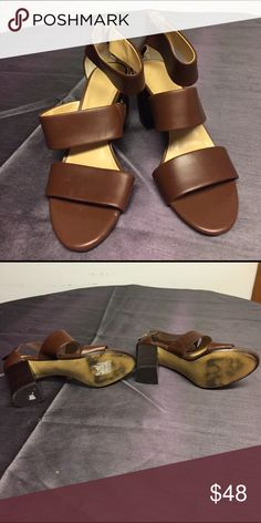 Banana Republic Leather Heels Genuine Leather Heels in excellent condition. 😊feel free to make me an offer. Banana Republic Shoes Heels