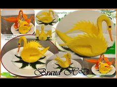 Amazing Bird Cutting from Pumpkin, Carrot and Black Peppercorn | Brand HD - YouTube